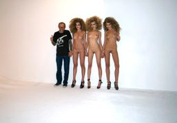Terry Richardson, Eniko, Magdalena and Abbey Lee on the Best of the…