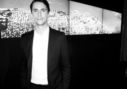The new face of HOGAN, actor Matthew Goode, at the brand's S/S…