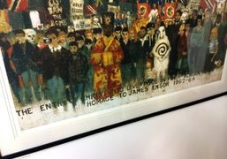 """""""First Happenings: Adrian Henri in the 60s and 70s"""" exhibition at the..."""