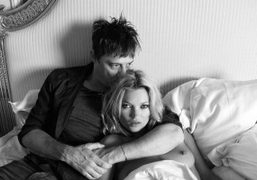 Congratulations to Kate Moss and Jamie Hince on their wedding. Photo Terry…