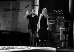 NICOLE AND MICHAEL COLOVO theHELMUT LANGDesigners, New York, Photo Stephane Feugere