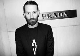 Marcelo Burlon at the Prada event to celebrate the opening of the…