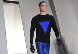 Mugler men's F/W 2013 show, Paris