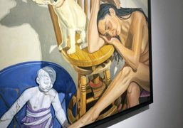 """Alice Neel """"My Animals and Other Family"""" at Victoria Miro, London"""
