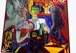 """Peter Doig """"Early Works"""" exhibition at Michael Werner Gallery, London"""