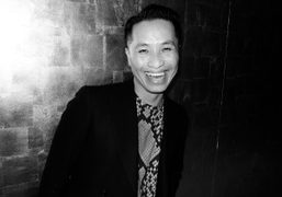 Phillip Lim at his F/W 2012 men's show after party with Wonderland…