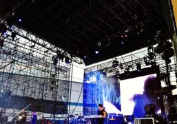 New Order playing in Williamsburg as part of their summer concert tour….