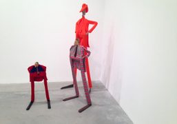 William King sculptures on view until January 15th at Algus Greenspon, New…