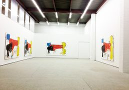 Matador,a solo show by Eddie Martinez,opens tomorrow at The JournalGalley, 106 North…