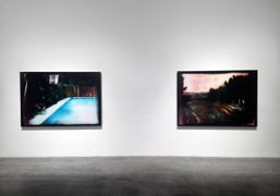 "Matt Saunders ""Neon in Daylight"" exhibition at Blum and Poe, Los Angeles…."