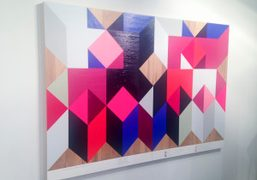 A painting by Andrew Kuoon view until December 8th at theNADA Art…