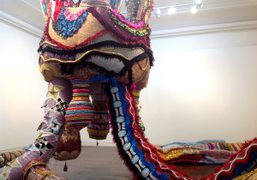 Joana Vasconcelos exhibition on view though November 17th at Haunch of Venison,…