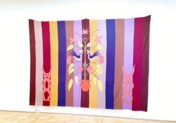 A work by Mike Kelley as part of the Summer Group Show…