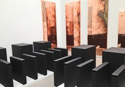 """Walead Beshty """"Performance Under Working Conditions"""" exhibition at Petzel Gallery, New York…."""