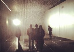 The Rain Room by Random International at the Barbican Centre, London