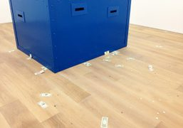 """Paola Pivi's Money Machine at her inaugural show """"Ok, you are better…"""