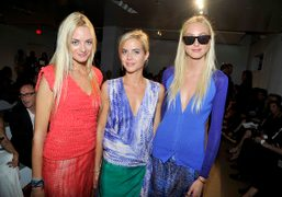 REED KRAKOFF SPRING / SUMMER 2012 front row
