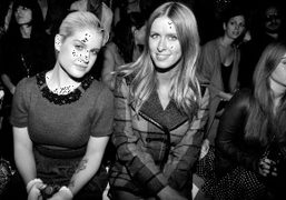 KELLY OSBOURNE and NICKY HILTON at the CHARLOTTE RONSONshow, New York, Photo…