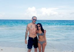 Terry Richardson and Audrey in Tulum. Photo Terry Richardson