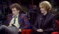 Richard Kern TV Takeover / John Lydon and Keith Levene on Tom Snyder (1980)