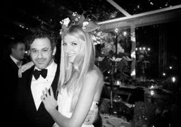 Tom Sachs and Sarah Hoover just married in Indianapolis