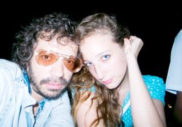 Olivier Zahm and Vanna Youngstein at the Rent Party, New York. Photo…