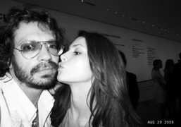 Olivier Zahm and Charlotte Kemp at the premiere of the Vogue documentary…