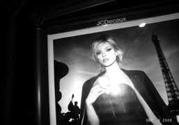 Kate Moss in the campaign for the new Yves Saint Laurent perfume…