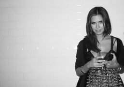 The beautiful (and pregnant) new editor of Pop, Dasha Zhukova, who just…