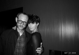 Terry Richardson and Trish Goff at the Boom Boom Room Opening, The…