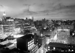 End of the night, The Standard Hotel, New York. Photo Olivier Zahm