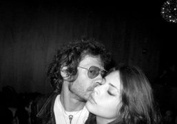 Olivier Zahm and Charlotte Kemp at the T Magazine party at the…