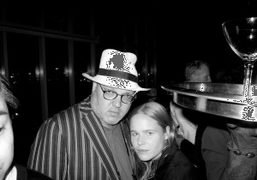 Todd Eberle and Hanna Liden at the T Magazine party at the…