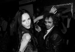 L'Wren Scott dancing at the after party of her Spring collection, New…