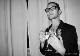 Samuel François at the Pierre Hardy 10th anniversary party, Paris. Photo Olivier…