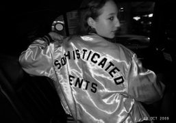Vanna Youngstein in the cab to JFK, New York. Photo Olivier Zahm