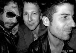 Olivier Zahm, Jefferson Hack, and Andre at the 30th anniversary of legendary…