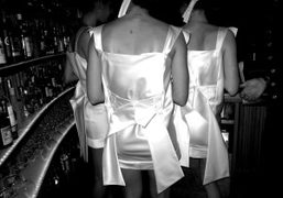 Waitresses at the Boom Boom Room, Standard Hotel, New York. Photo Rachel…