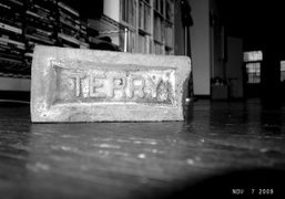 Terry Richardson's brick at his studio, New York. Photo Olivier Zahm