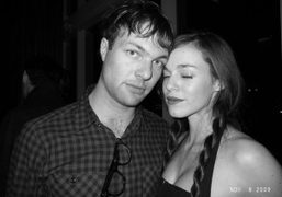 Mickey Madden from Maroon 5 and his girlfriend Hailey Gates at the…