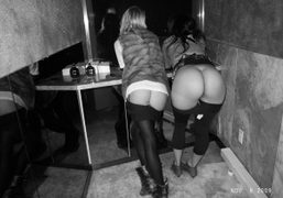 Mooning at the Boom Boom Room, Standard Hotel, New York. Photo Olivier…