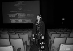 Vanna Youngstein at the end of This Is It at AMC Loews…