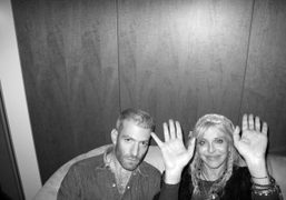 Mel Ottenberg and Courtney Love at the Andre & Andre Soiree at…