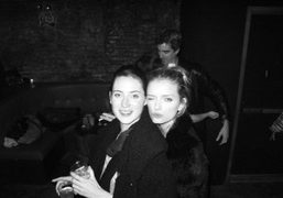 Cecile Winckler and Lily Donaldson at Home Sweet Home, New York. Photo…