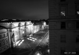 The Metropolitan Museum seen from Daphne Guinness's apartment, New York. Photo Olivier…
