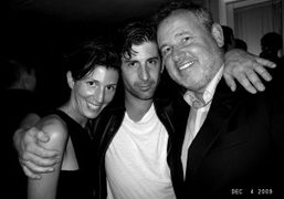 Ludivine Poisblanc, Andre Saraiva and Fabien Baron at the Interview Party at…