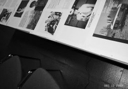 Working on the layout of the next Purple Fashion#13, Purple Institute, Paris….