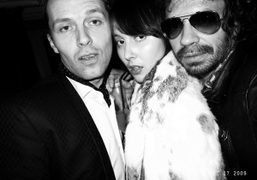 Robert Montgomery, Paula Goldstein and Olivier Zahm at the Another Cocktail Dinatoire,…