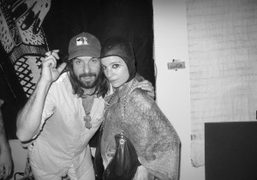 Spencer Sweeney and Adi Gil at the Gavin Brown's Enterprise Christmas party,…