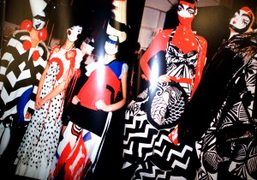 Dior Spring 2002 Couture and Fall 2003 RTW, a double page of…